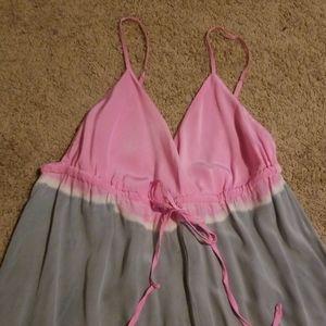 Gypsy 05 Dresses - Gypsy 05 💯% silk tie dye maxi slip dress